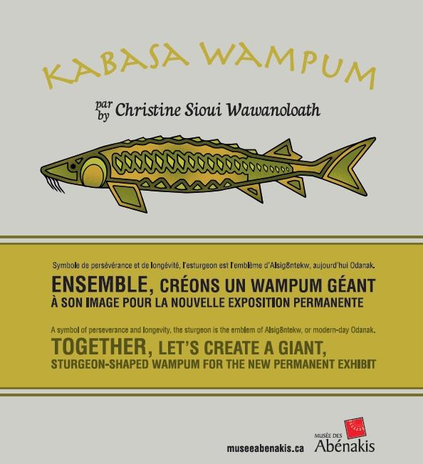 Kabasa Wampum - un projet rassembleur